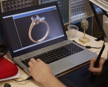 CAD jewelry design