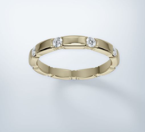 Yello Gold Ring 3