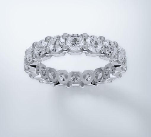 White Gold Ring 6
