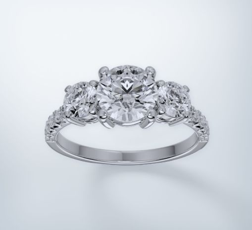 White Gold Ring 8