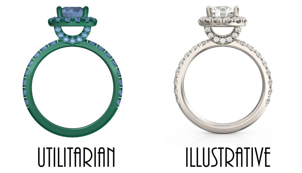 Utilitarian-vs-Illustrative