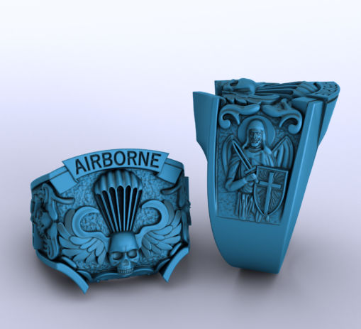 Airborne Ring 3D Sculpting