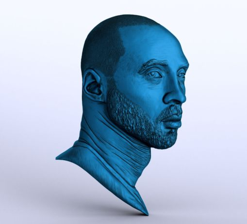 Kobe Bryant Portrait Sculpting